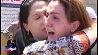 khawaja sara alisha killed in peshawar