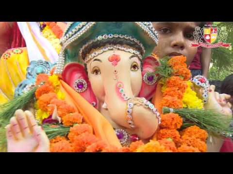 A Glimpse of Ganesh Chaturthi at PU Campus