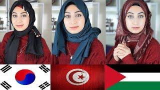 Farklı Ülkelerin Değişik Şal Bağlama Stilleri 2 | Hijab Tutorials