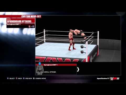 WWE 2K15 AJ Styles Moveset