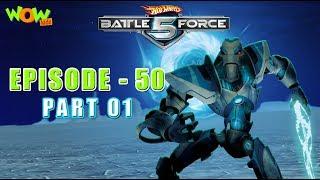 Motu Patlu presents Hot Wheels Battle Force 5 - Get Zemerik - S2 E50.P1 - in Hindi