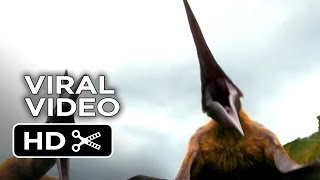 Walking With Dinosaurs 3D - Dino Files - Big Mouthed Azhdarchid (2013) - Animated Jurassic Movie HD