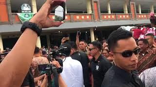 ANTARANEWS - Presiden Jokowi kunjungi proyek padat karya Tabanan