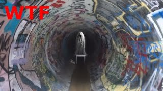 DEMON GIRL SPEAKS IN THE HAUNTED TUNNEL (WTF)