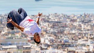 Dimitris Kyrsanidis Freerunning in Athens | 360° video