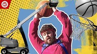 World Record   Highest Basketball Hoop