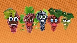 Grape Finger Family Song Nursery Rhymes for Kids | Videos for Kids