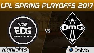 EDG vs OMG Highlights Game 1 LPL Spring Playoffs 2017 Edward Gaming vs OMG