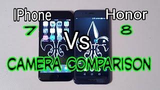 iPhone 7 Vs Honor 8:Ultimate Camera Comparison | Who Will Win ???