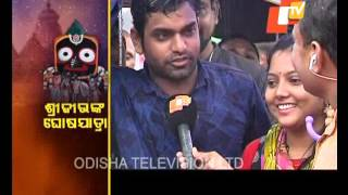 Rath Yatra chariot pulling resumes - PURI RATHA YATRA 2017