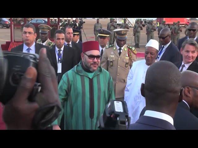 Visite officielle du Roi Mohammed VI en Guinée