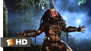 Predator (4/5) Movie CLIP - One Ugly Motherf***er (1987) HD