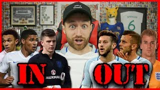 REACTING TO ENGLAND WORLD CUP SQUAD - IMO #42