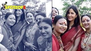 Katrina Kaif Looks Lovely in a Red Saree on 'Jagga Jasoos' Sets | SOCIAL BUTTERFLY