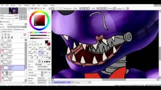 [SpeedPaint] Nightmare Bonnie (Five Nights at Freddy's 4)