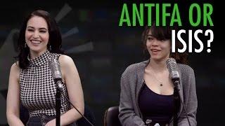 Gavin McInnes: Antifa anti-Semitism (w/Brittany Venti, Martina Markota)