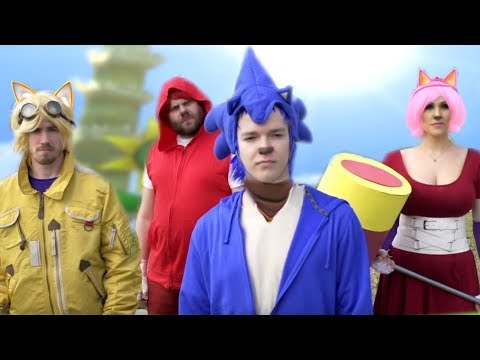 Sonic Boom Sonic Parody & Parkour SonicBoom