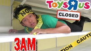 Final 3AM in Abandoned Toys R Us  *24 Hours Challenge*