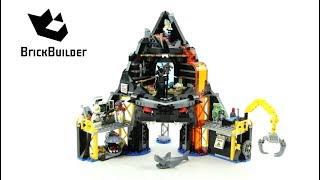 Lego Ninjago 70631 Garmadon's Volcano Lair  - Lego Speed build