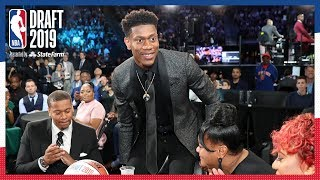 De'Andre Hunter Selected 4th OVERALL! | 2019 NBA Draft