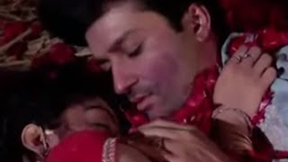 SurYa Remarriage - Suraj and Sandhya's Suhag Raat   Kissing scene