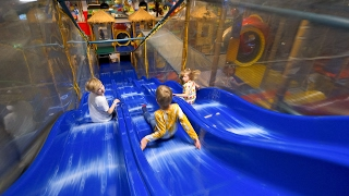 Busfabriken Indoor Playground Fun for Kids #1