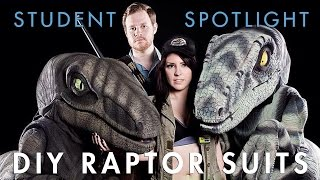 How we built Raptor Costumes inspired by JURASSIC PARK