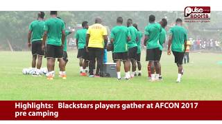 Black Stars Begin Pre-Camping In Accra | Pulse Sports