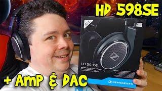 Sennheiser HD 598 Special Edition Headphones & O2 Amp
