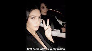 Kim Kardashian | My First Selfie of 2017 | VLOG