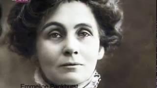 Feministas de la historia Emmeline Pankhurst y Sojourner Truth