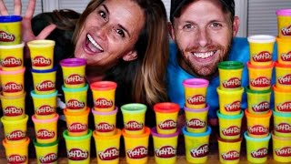 DCTC's World Play-Doh Day Sculpt the Future Challenge with Amy Jo and Brandon