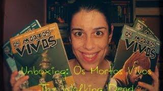 Unboxing: Os Mortos Vivos (The Walking Dead)