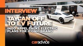 INTERVIEW: Porsche Taycan, Mission E and Ingo Appel