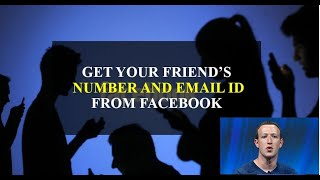 Get phone number ,email id of your frnd from fb and few more tricks of fb