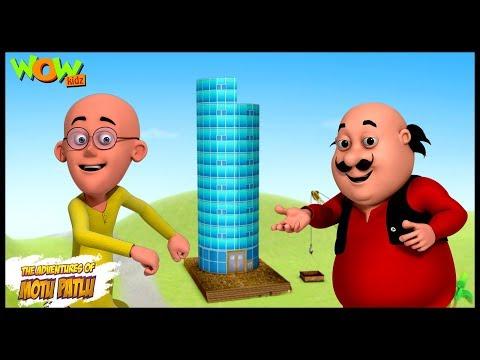Mobile Tower - Motu Patlu in Hindi - 3D Animation Cartoon for Kids -As seen on Nickelodeon