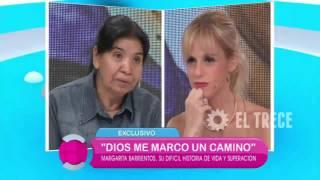 Margarita Barrientos cuenta su dura historia familiar