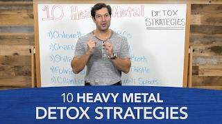 10 Heavy Metal Detox Strategies