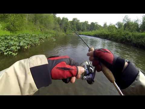 ловля на мандулу на реке