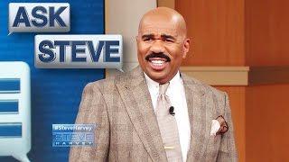 Ask Steve: Rollin' around in bed! || STEVE HARVEY