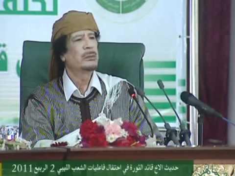 Xxx Mp4 خطاب القذافي بمناسبة مرور34 عام على سلطة الشعب 2 3 2011 3gp Sex