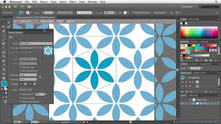 Illustrator CS6: Using the Pattern Options tool | lynda.com tutorial
