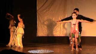 Anushka's 1st salsa dance.....