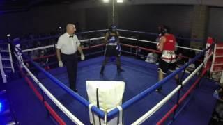Ultra White Collar Boxing   Birmingham   Brad Hood VS Junaid Mahmood