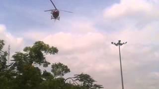 Helicopter se pushpa varsha on kavad yatri