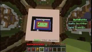 Build Battle no premium // junto a los youtubers AlFa X yyyyyy TheTIREX GP
