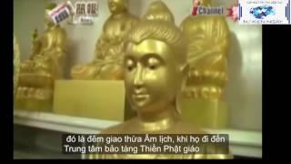 Clip Tượng Phật bất ngờ mở mắt cười nói suốt 1 giờ khiến nhiều người sửng sốt