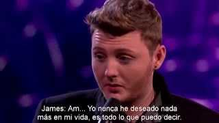 James Arthur Semana 9 (Semi-final) - The Power Of Love - X Factor UK 2012 (Subtitulado a español)