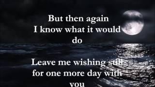 One More Day lyrics Diamond Rio