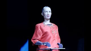Sophia Si Robot Humanoid Sosial